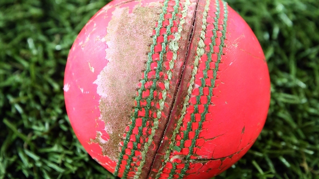 This ball was bowled to NSW by SA in a Shield Match in Adelaide... on a grassy wicket.